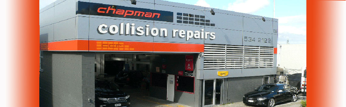 Welcome to Chapman Collision